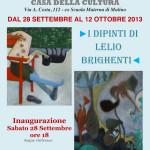 I dipinti di Lelio Brighenti