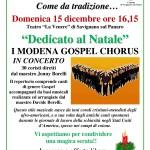 Concerto gospel 15 dicembre 2013
