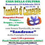 Tombola di Carnevale 2014