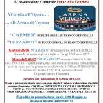 Carmen e Turandot a Verona