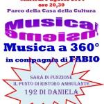 Musica a 360° con Fabio