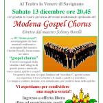 Concerto gospel 13 dicembre 2014
