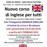 CORSO DI INGLESE 2015