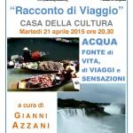 Racconto di Viaggio Gianni Azzani 2015