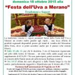 Festa dell'Uva a Merano 2015