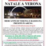 Mercatini e presepi a Verona 2015