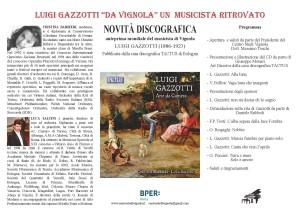 Invito Concerto Luigi Gazzotti Teatro Fabbri