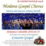Concerto gospel 4 dicembre 2016
