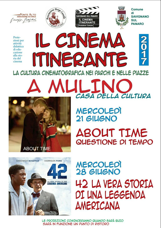 Il cinema itinerante a mulino casa della cultura ponte for Il film della cabina 2017